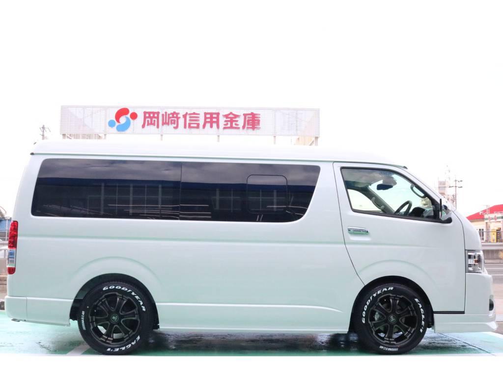 1.5インチローダウンキット♪   トヨタ ハイエース 2.7 GL ロング ミドルルーフ 4WD TSS寒冷地付アレンジAS