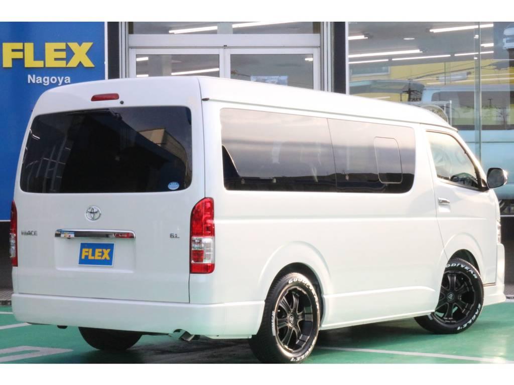 リアフォグランプ装備♪   トヨタ ハイエース 2.7 GL ロング ミドルルーフ 4WD TSS寒冷地付アレンジAS