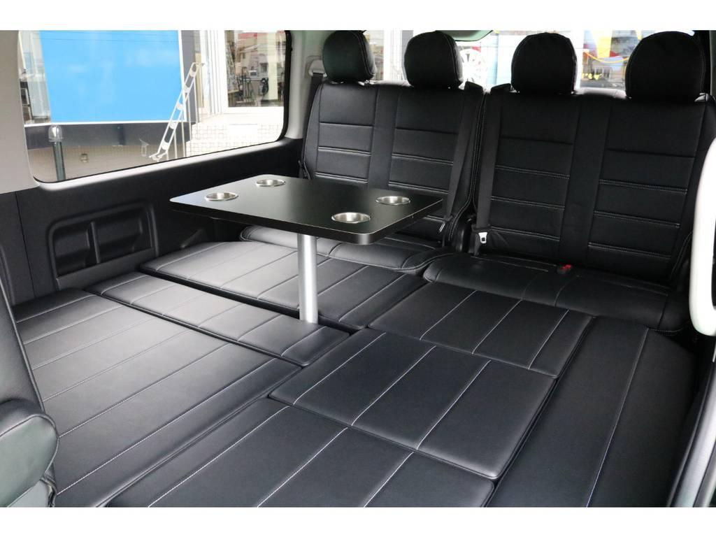 大人の方でもゆったりくつろげます♪ | トヨタ ハイエース 2.7 GL ロング ミドルルーフ 4WD TSS寒冷地付アレンジR1
