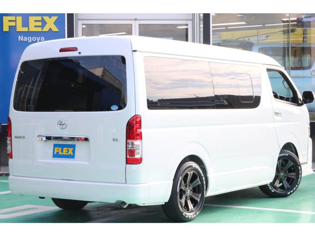 リアフォグランプ装備♪ | トヨタ ハイエース 2.7 GL ロング ミドルルーフ 4WD TSS寒冷地付アレンジR1