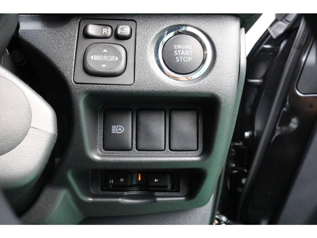 プッシュスタート&ビルトインETC♪ | トヨタ ハイエースバン 2.8 スーパーGL ダークプライムⅡ ロングボディ ディーゼルターボ PS無