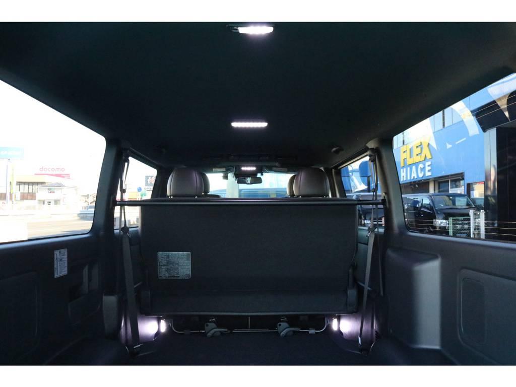 LEDルームランプを装備させてあります!   トヨタ ハイエースバン 2.8 スーパーGL 50TH アニバーサリー リミテッド ロングボディ ディーゼルターボ 50TH