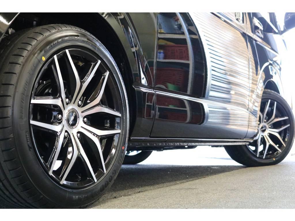 他のホイールに変更も承っております!   トヨタ ハイエースバン 2.8 スーパーGL 50TH アニバーサリー リミテッド ロングボディ ディーゼルターボ 50TH