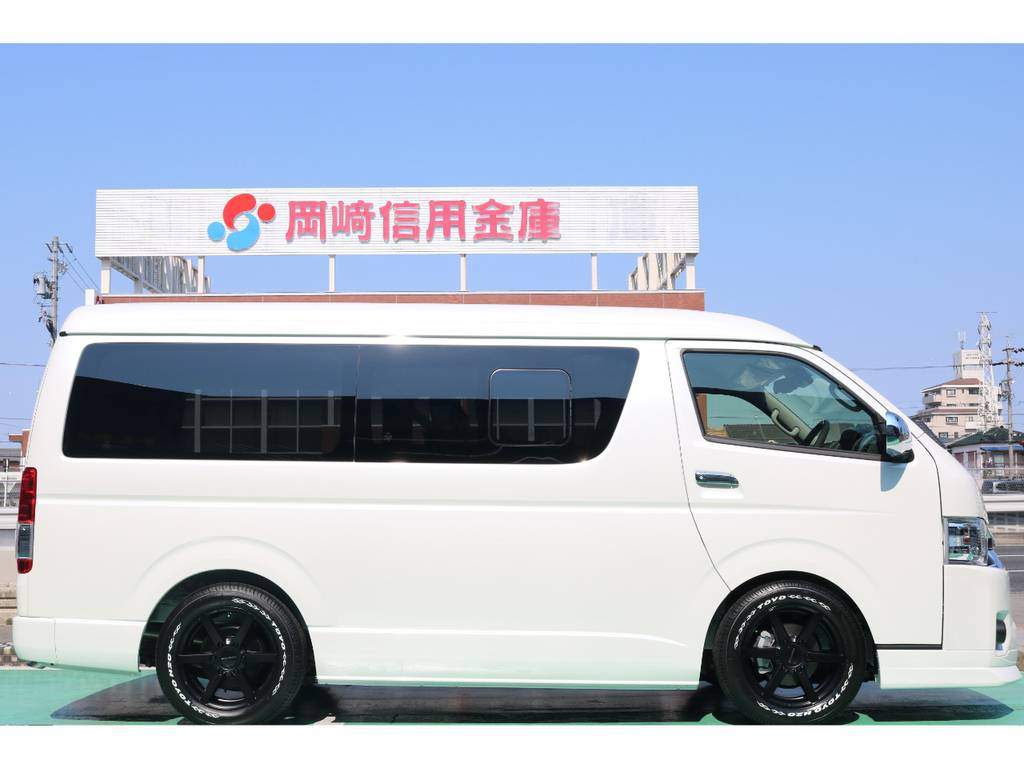 2インチローダウンキット♪ | トヨタ ハイエース 2.7 GL ロング ミドルルーフ TSS付