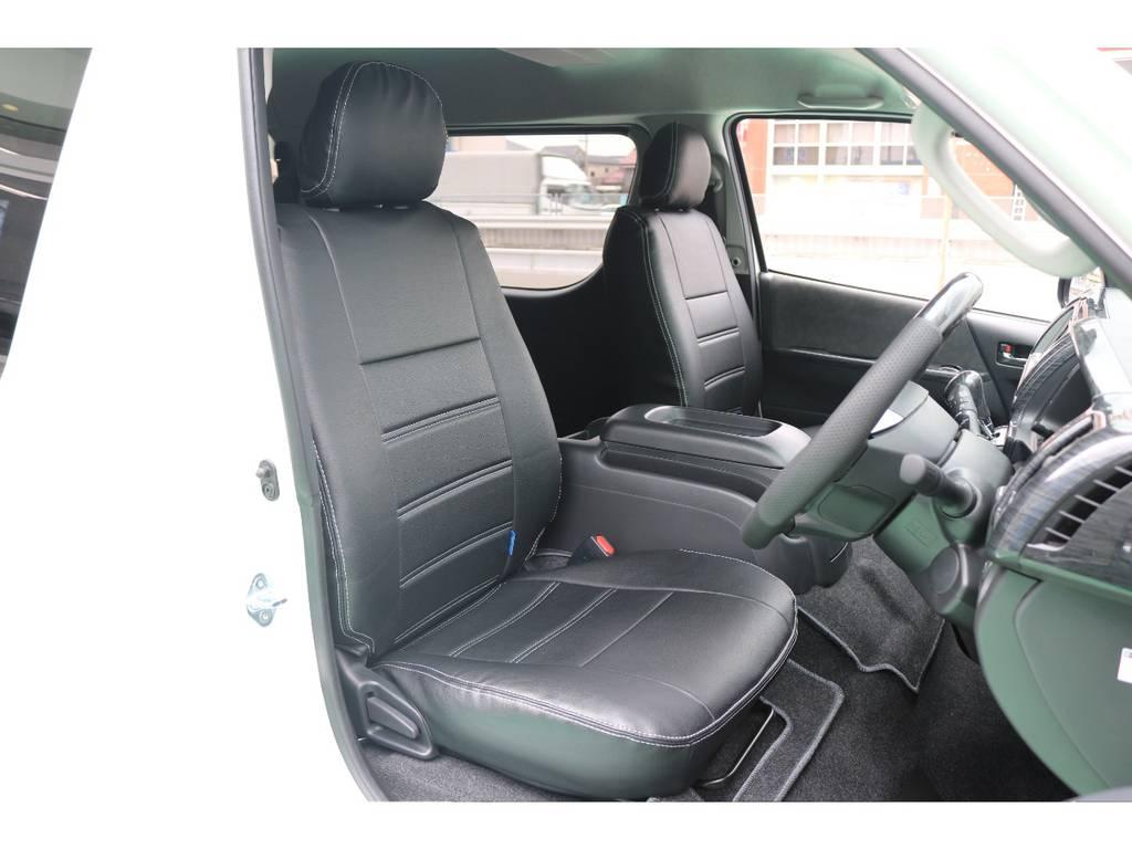 シートカバー完備♪ | トヨタ ハイエース 2.7 GL ロング ミドルルーフ TSS付