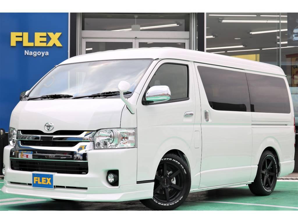 新車ワゴンGL・2WD・FLEX ORIGINAL Ver2入庫♪ | トヨタ ハイエース 2.7 GL ロング ミドルルーフ TSS付