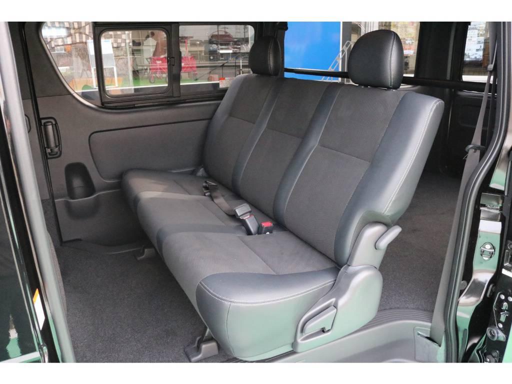 商用車とは思えない上品な内装がダークプライムの売りです!! | トヨタ ハイエースバン 2.8 スーパーGL ダークプライムⅡ ロングボディ ディーゼルターボ PS無