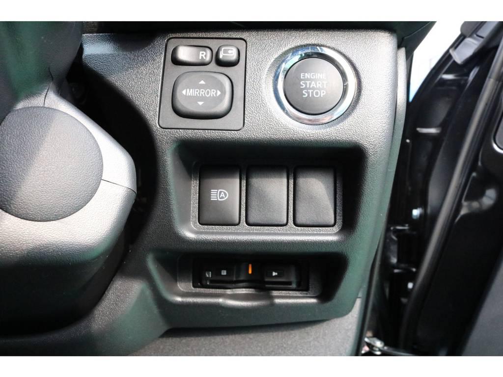 ビルドインETC・スマートキー&プッシュスタート装備♪ | トヨタ ハイエースバン 2.8 スーパーGL ダークプライムⅡ ロングボディ ディーゼルターボ PS無