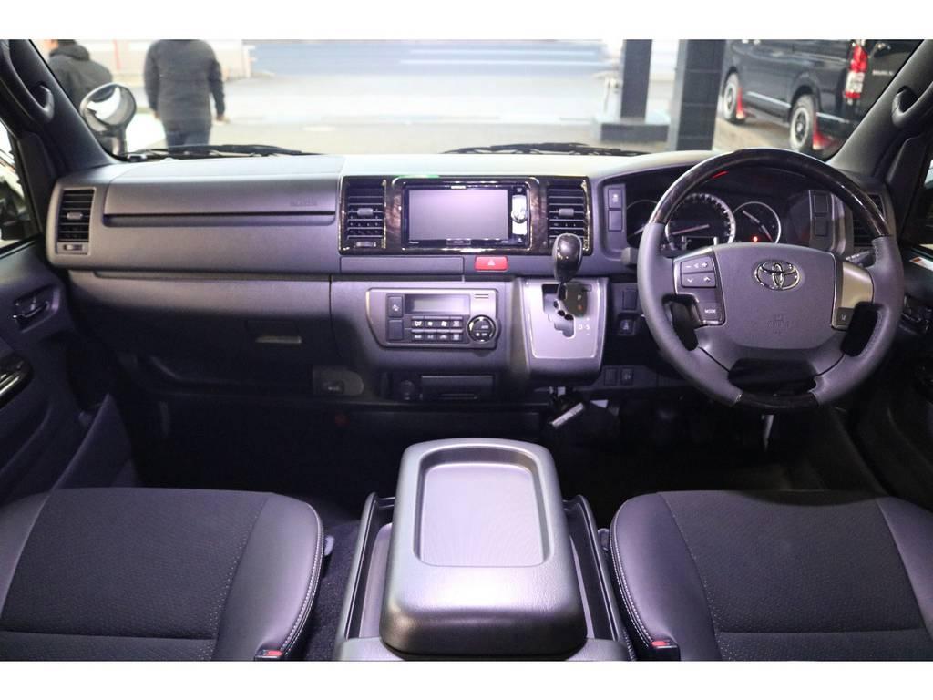 特別仕様車専用内装です! | トヨタ ハイエースバン 2.8 スーパーGL ダークプライムⅡ ロングボディ ディーゼルターボ 4WD S無