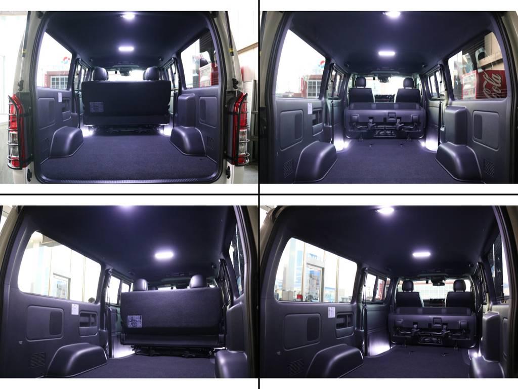 ハイエースならではの広々とした荷室!!! | トヨタ ハイエースバン 2.8 スーパーGL ダークプライムⅡ ロングボディ ディーゼルターボ 4WD S無