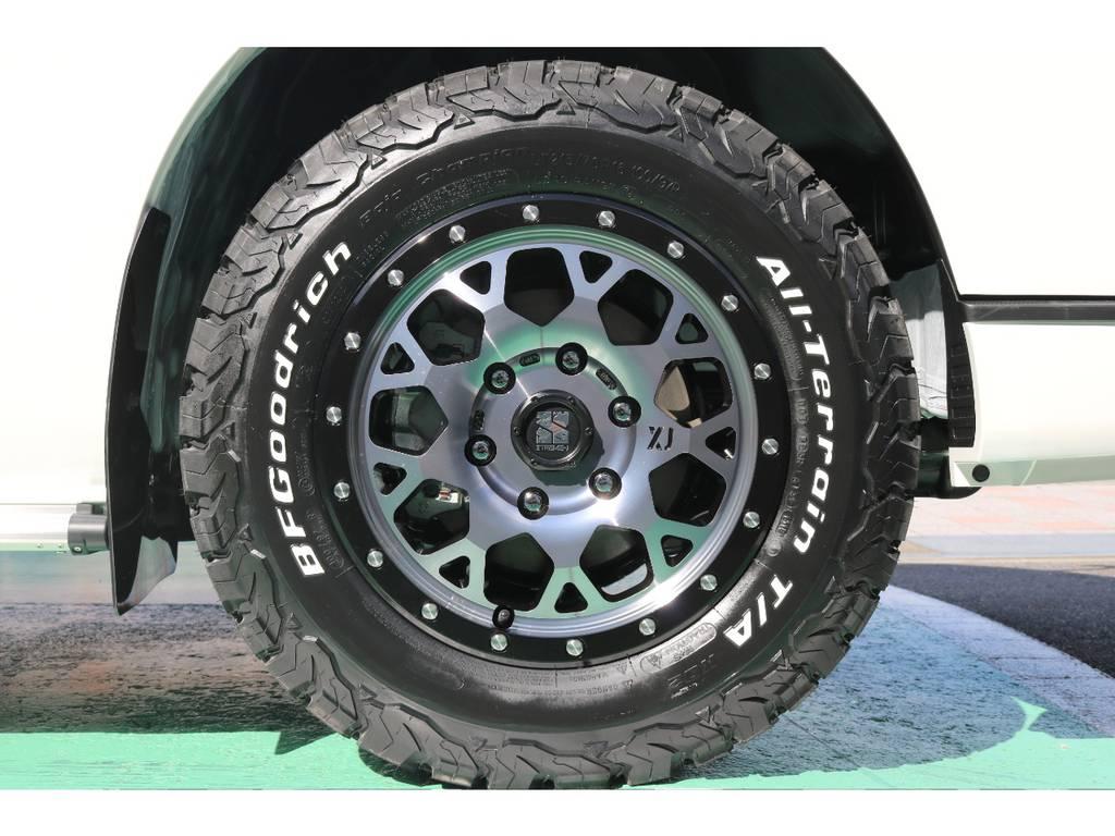 アルミはESSEX EXをセレクト! 215・65・16でサイズもピッタリですね♪ | トヨタ ハイエースバン 2.8 スーパーGL ダークプライムⅡ ロングボディ ディーゼルターボ 4WD S無