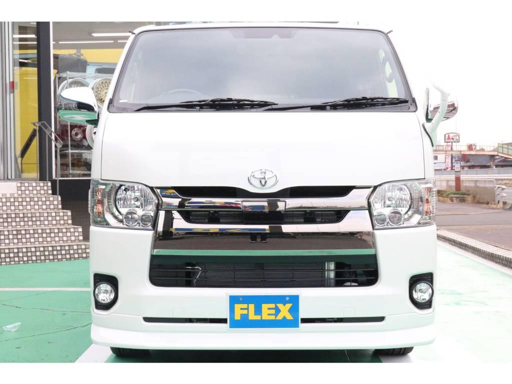 トヨタセーフティーセンス・LEDヘッドライト装備♪ | トヨタ ハイエースバン 2.8 スーパーGL ダークプライムⅡ ロングボディ ディーゼルターボ 4WD PS無
