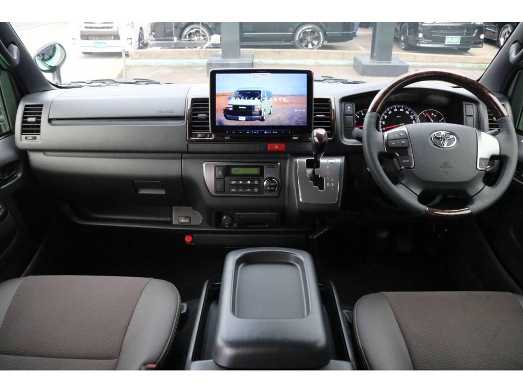 50TH特別仕様のコックピット♪ | トヨタ ハイエースバン 2.8 スーパーGL 50TH アニバーサリー リミテッド ロングボディ ディーゼルターボ 4WD 50TH
