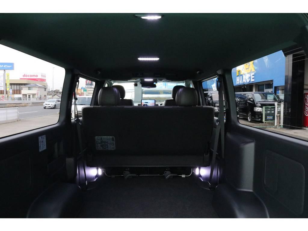 LEDルームランプセット♪ | トヨタ ハイエースバン 2.8 スーパーGL 50TH アニバーサリー リミテッド ロングボディ ディーゼルターボ 4WD 50TH