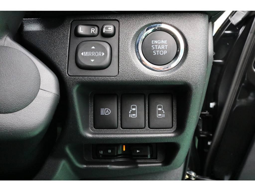 プッシュスタート&ビルトインETC♪ | トヨタ ハイエースバン 2.8 スーパーGL 50TH アニバーサリー リミテッド ロングボディ ディーゼルターボ 4WD 50TH