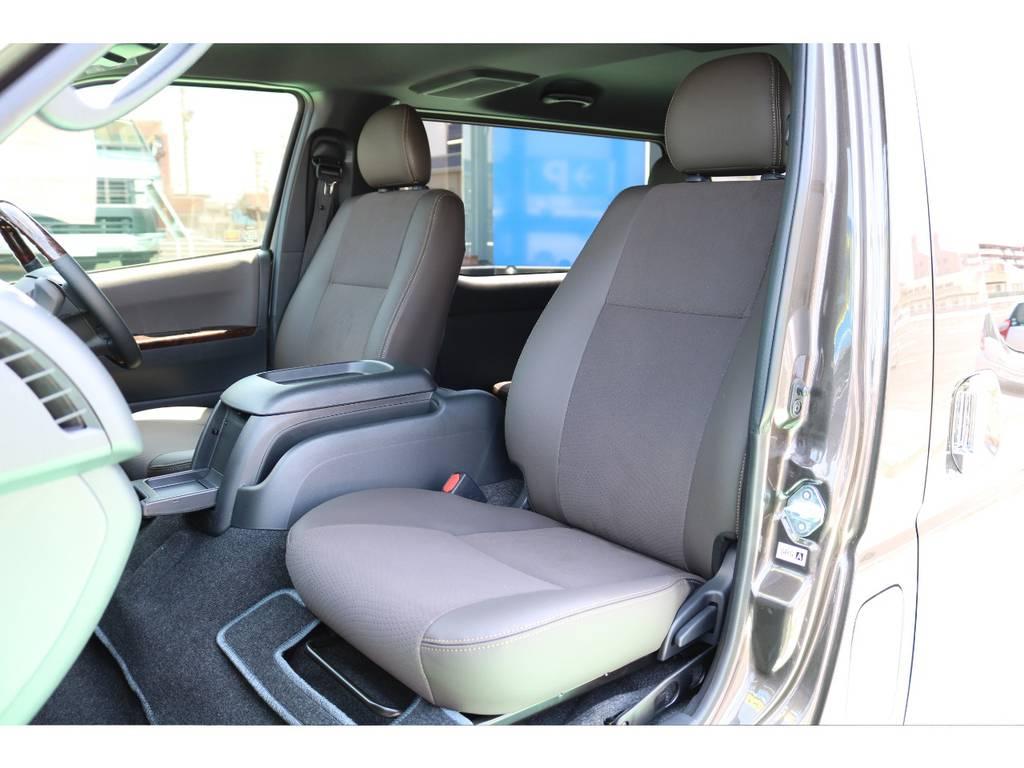50TH限定モデルはシートがより上品です! | トヨタ ハイエースバン 2.8 スーパーGL 50TH アニバーサリー リミテッド ロングボディ ディーゼルターボ 50TH (4X7)