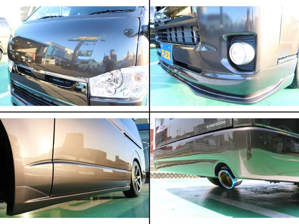 細部にまでこだわりカスタムされた1台となっています♪ | トヨタ ハイエースバン 2.8 スーパーGL 50TH アニバーサリー リミテッド ロングボディ ディーゼルターボ 50TH (4X7)