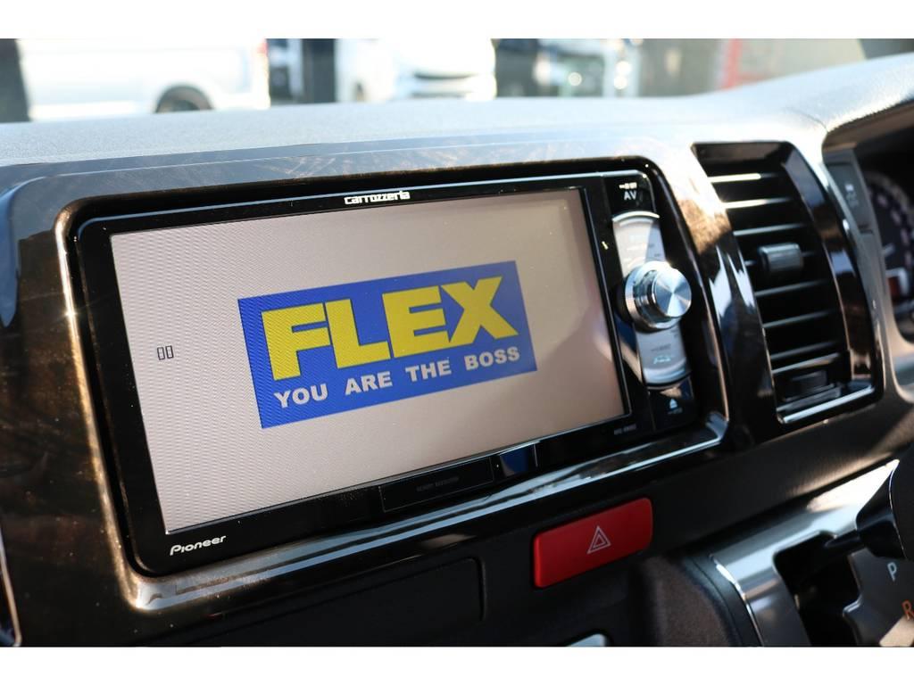 カロッツェリアSDナビ♪ フルセグTV・Bluetooth接続可能です!