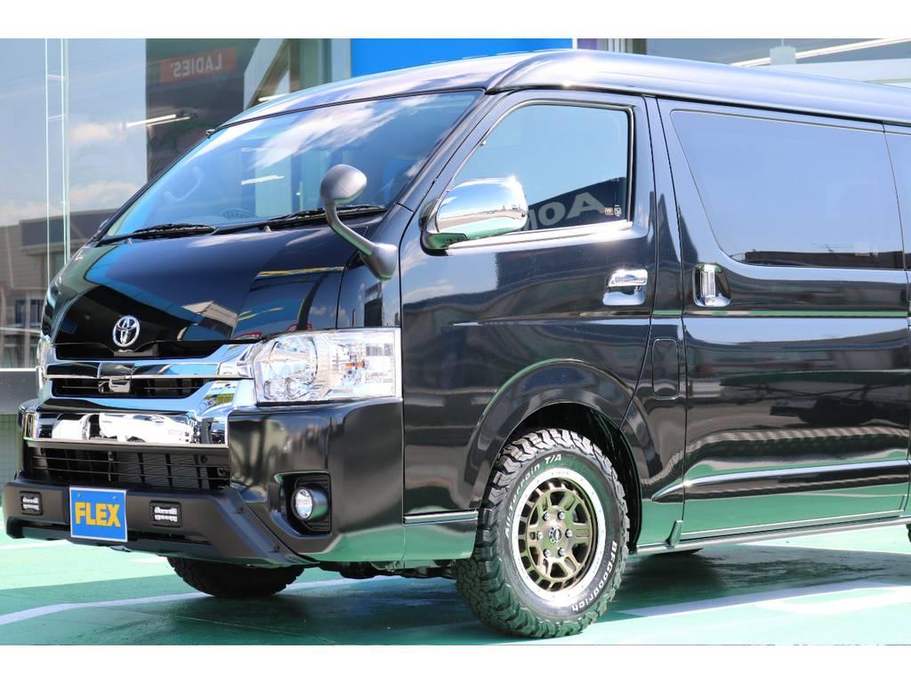 ワゴンGL 2.7ガソリン 4WDのカスタムパッケージ♪ | トヨタ ハイエース 2.7 GL ロング ミドルルーフ 4WD TSS付アレンジAS