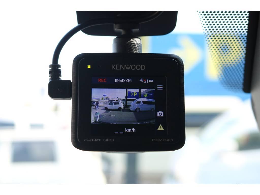 ケンウッド製 ドライブレコーダー装着済み♪   トヨタ ハイエース 2.7 GL ロング ミドルルーフ