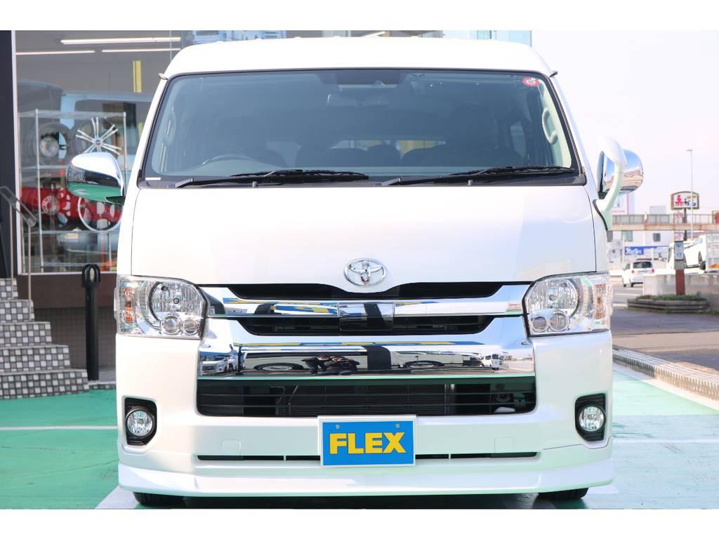 トヨタセーフティーセンス・LEDヘッドライト装備♪   トヨタ ハイエース 2.7 GL ロング ミドルルーフ