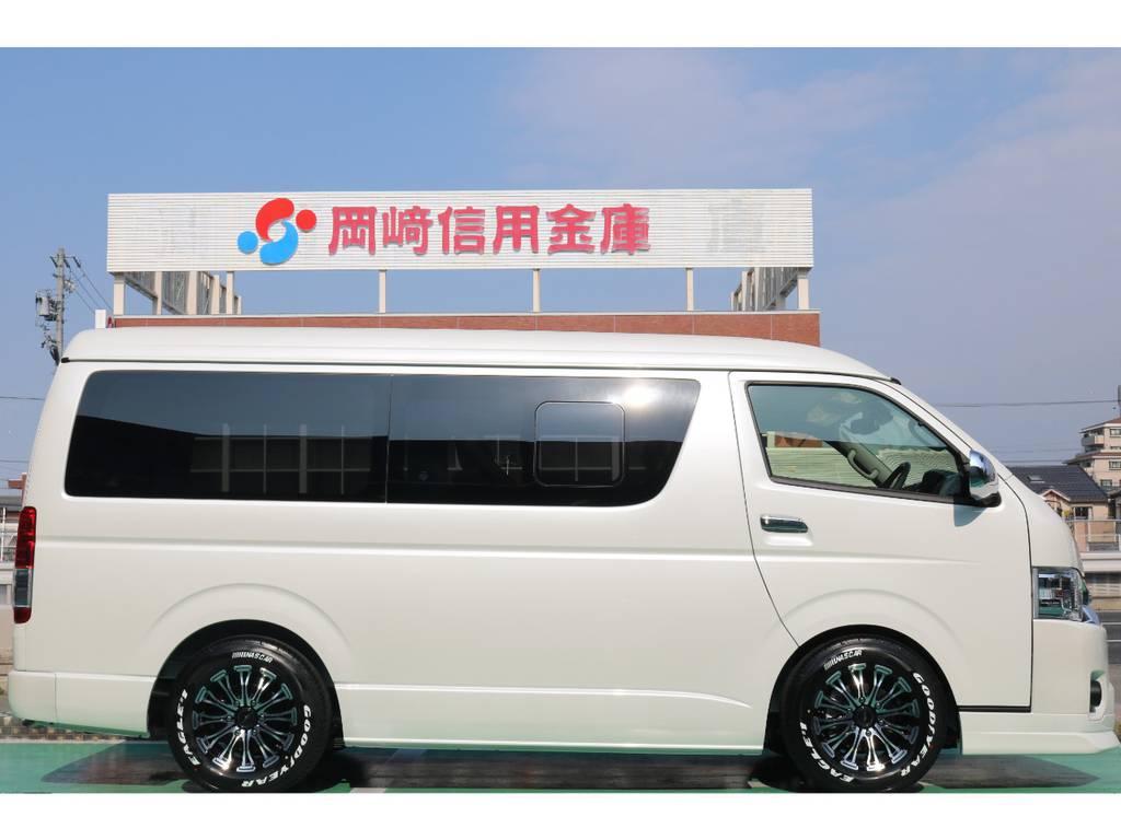 2インチローダウンキット♪   トヨタ ハイエース 2.7 GL ロング ミドルルーフ