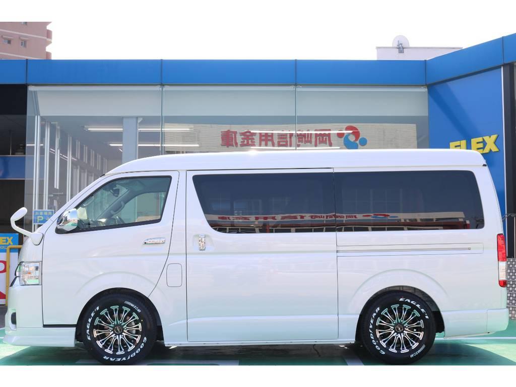 片側パワースライドドア装備♪   トヨタ ハイエース 2.7 GL ロング ミドルルーフ