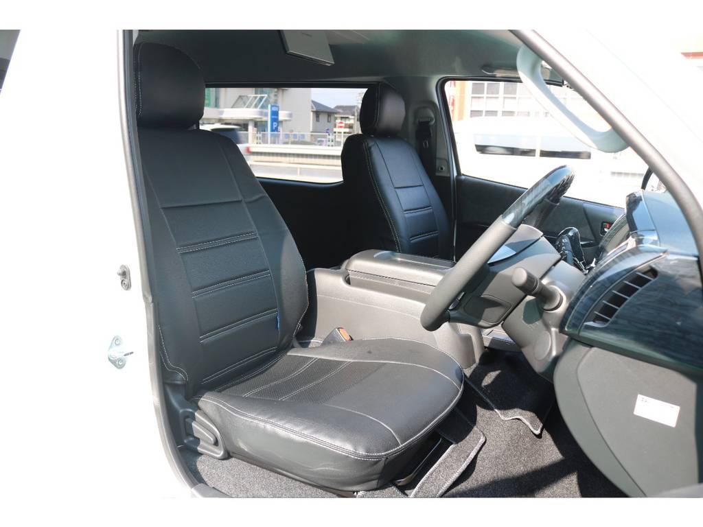 シートカバー完備♪   トヨタ ハイエース 2.7 GL ロング ミドルルーフ