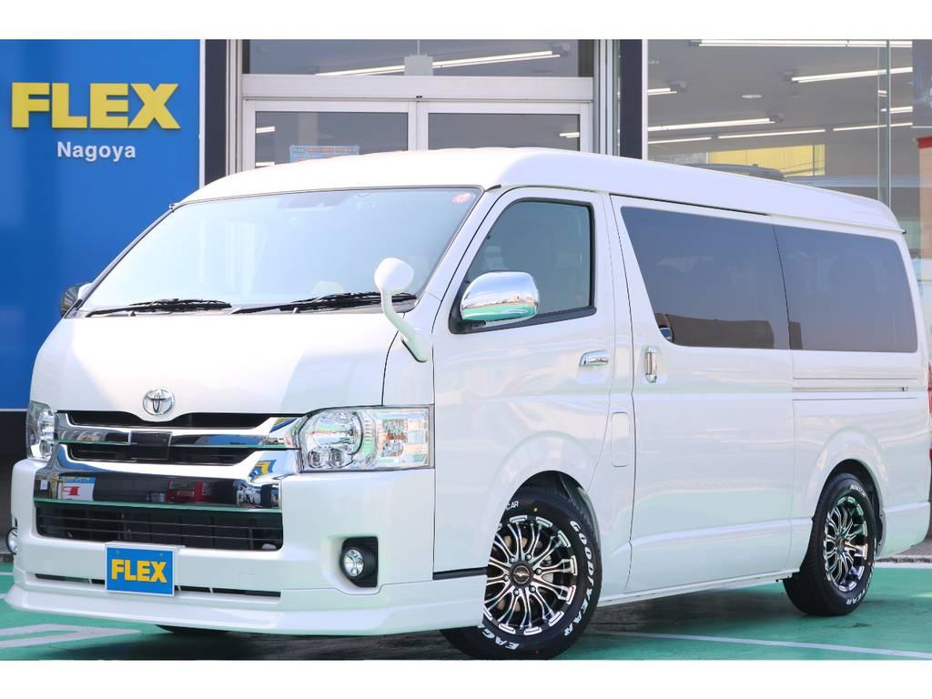 新車ワゴンGL・2WD・FLEX ORIGINAL Ver2入庫♪   トヨタ ハイエース 2.7 GL ロング ミドルルーフ