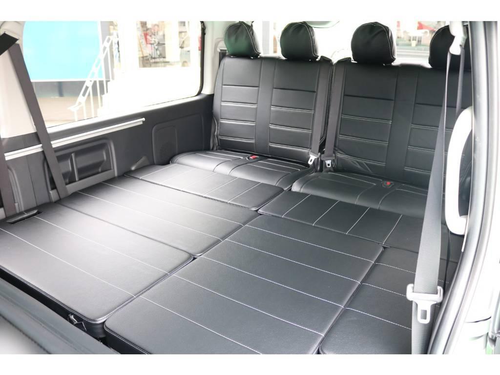 広々としたベットスペース! | トヨタ ハイエース 2.7 GL ロング ミドルルーフ