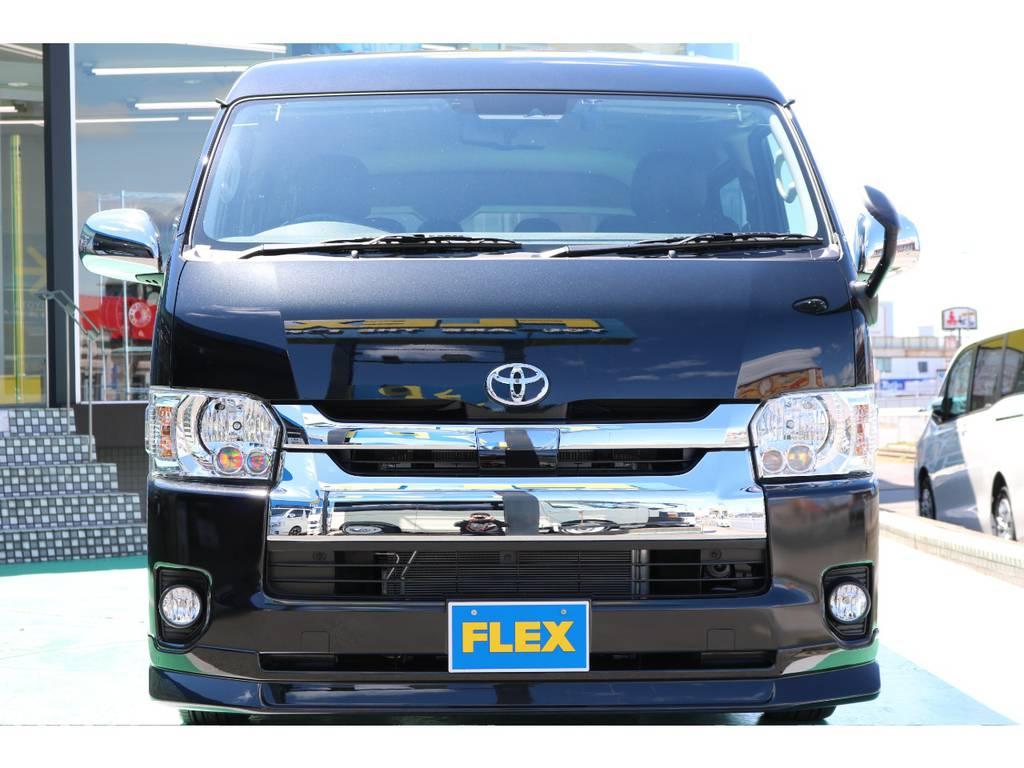 トヨタセーフティーセンス・LEDヘッドライト装備♪ | トヨタ ハイエース 2.7 GL ロング ミドルルーフ