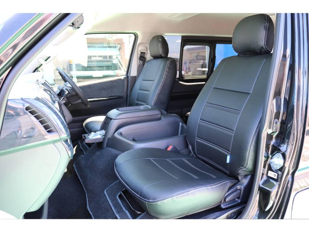 シートカバー完備♪ | トヨタ ハイエース 2.7 GL ロング ミドルルーフ
