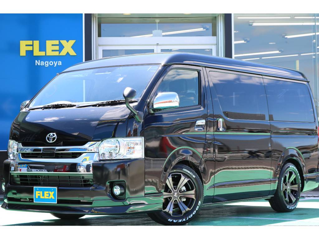 新車ワゴンGL・2WD・FLEX ORIGINAL Ver2入庫♪ | トヨタ ハイエース 2.7 GL ロング ミドルルーフ