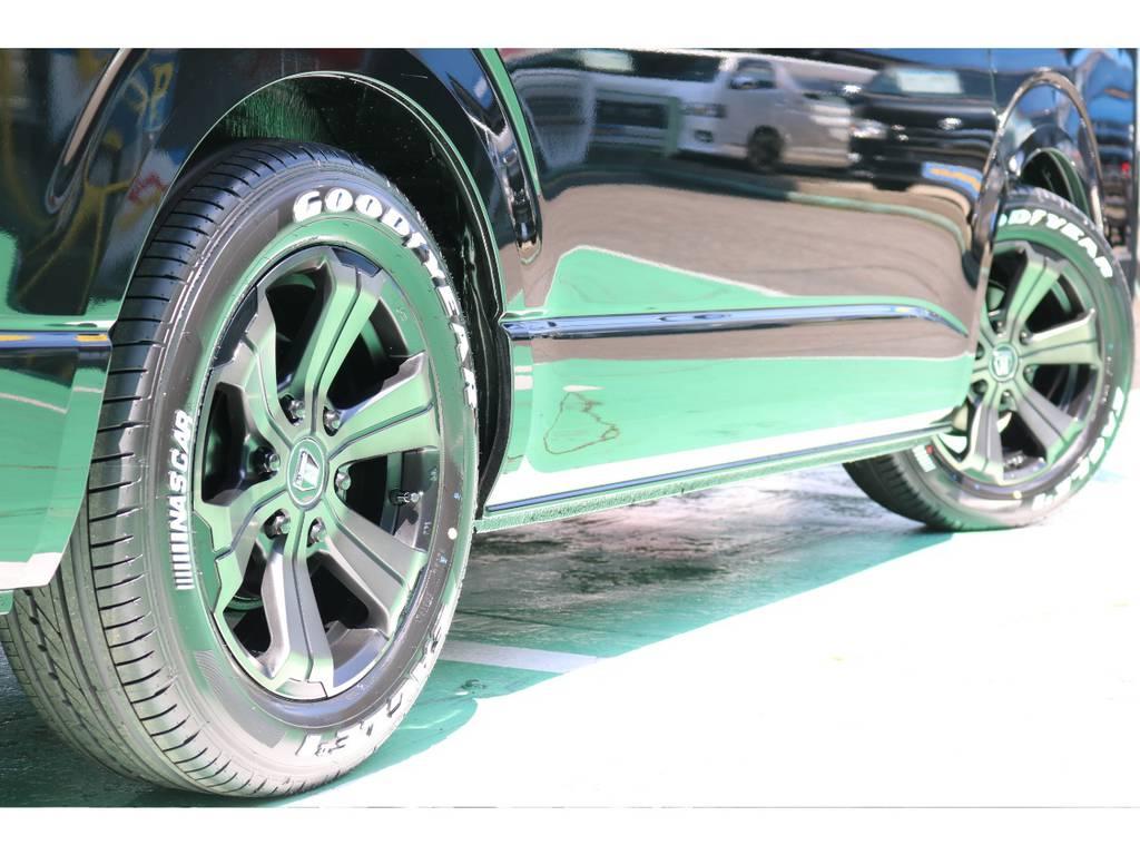 もちろん他のホイール・タイヤへの変更も承ります!