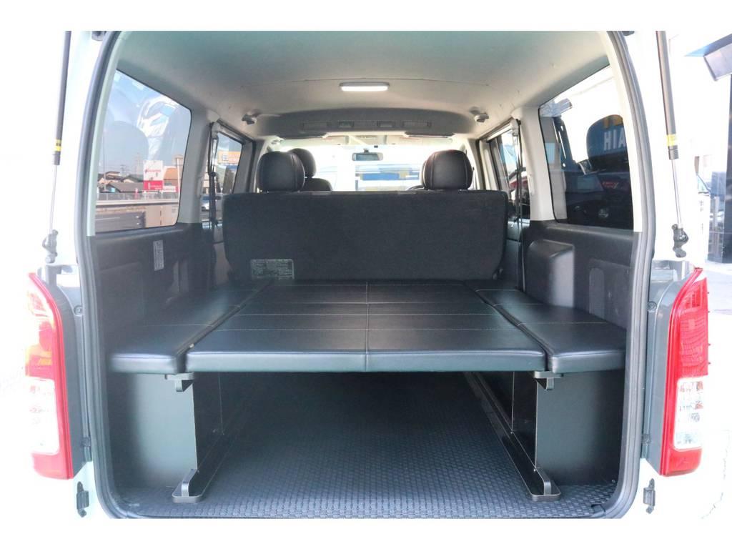 ベッドキッド装備♪ | トヨタ ハイエースバン 3.0 スーパーGL  ダークプライム ロングボディ ディーゼルターボ