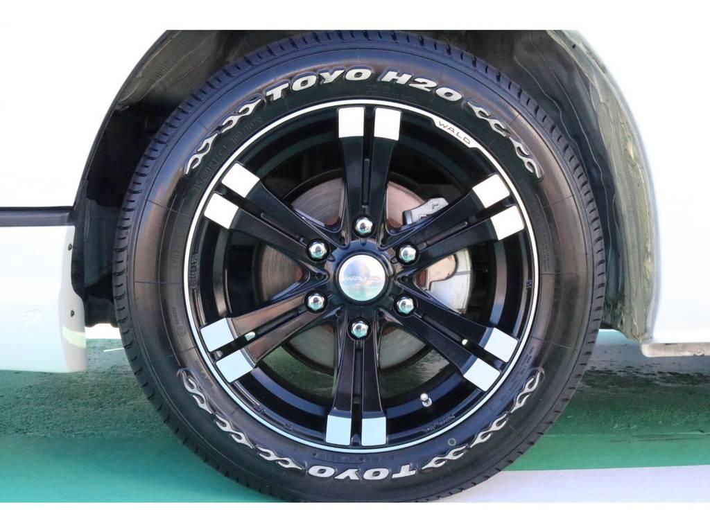 WALD17インチAW&TOYOタイヤ♪ | トヨタ ハイエースバン 3.0 スーパーGL  ダークプライム ロングボディ ディーゼルターボ