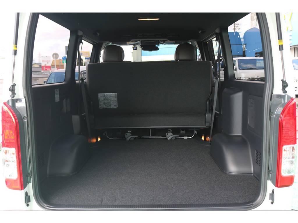 ハイエースならではの広々とした荷室!!! | トヨタ ハイエースバン 2.8 スーパーGL 50TH アニバーサリー リミテッド ロングボディ ディーゼルターボ 4WD 50TH