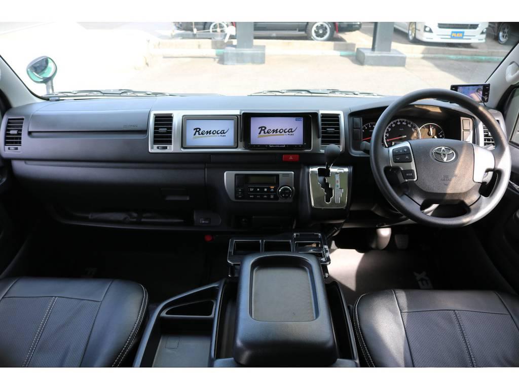 使用感の少ない綺麗な内装となっております!! | トヨタ ハイエース 2.7 GL ロング ミドルルーフ