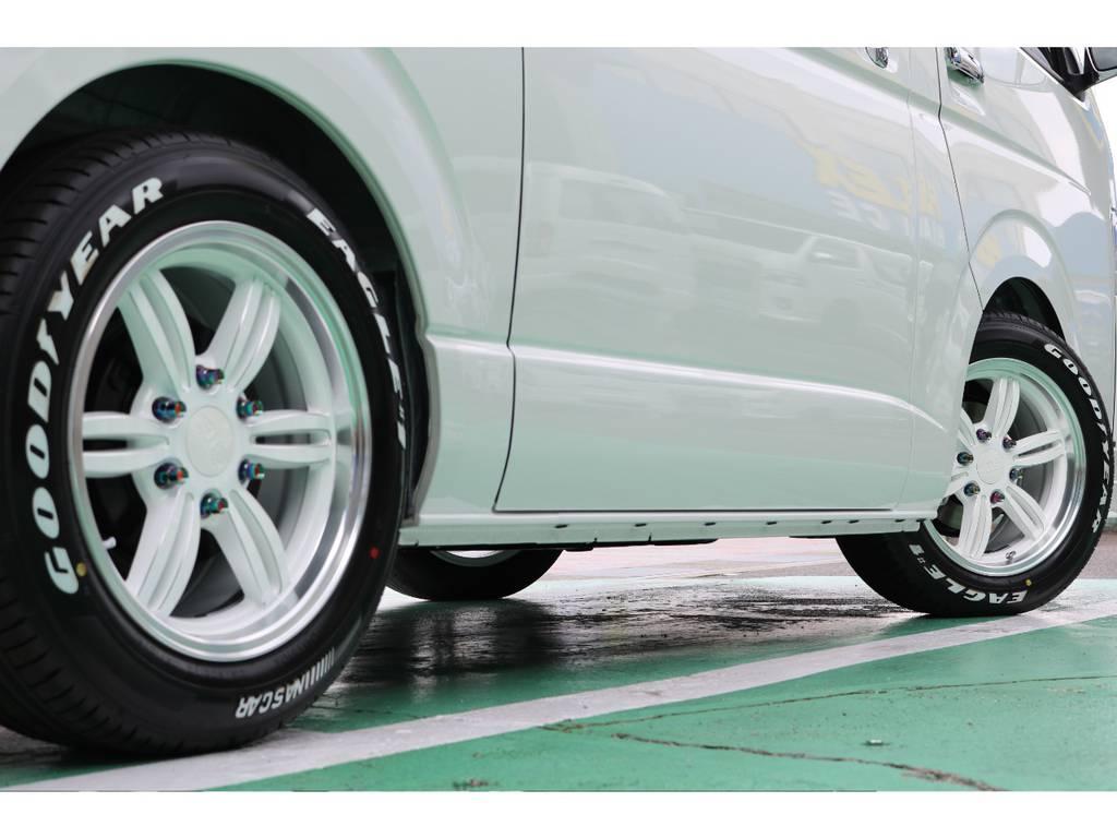 定番のナスカーとの相性もバッチリ♪ | トヨタ ハイエースバン 2.8 スーパーGL ダークプライムⅡ ロングボディ ディーゼルターボ