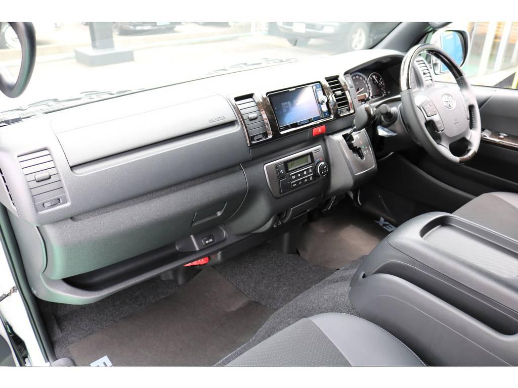追加カスタムもお気軽にご相談ください♪ | トヨタ ハイエースバン 2.8 スーパーGL ダークプライムⅡ ロングボディ ディーゼルターボ 4WD