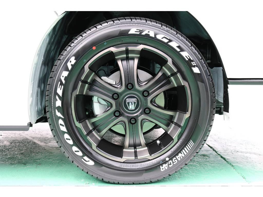 FLEXオリジナルカラーバルベロディープス17インチ | トヨタ ハイエースバン 2.8 スーパーGL ダークプライムⅡ ロングボディ ディーゼルターボ 4WD