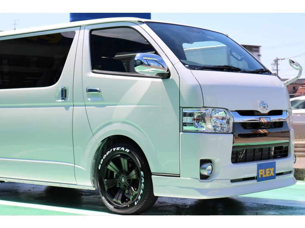 新車即納車! 新車 50TH ガソリン2WD 人気のライトカスタムパッケージです♪   トヨタ ハイエースバン 2.0 スーパーGL 50TH アニバーサリー リミテッド ロングボディ 50TH