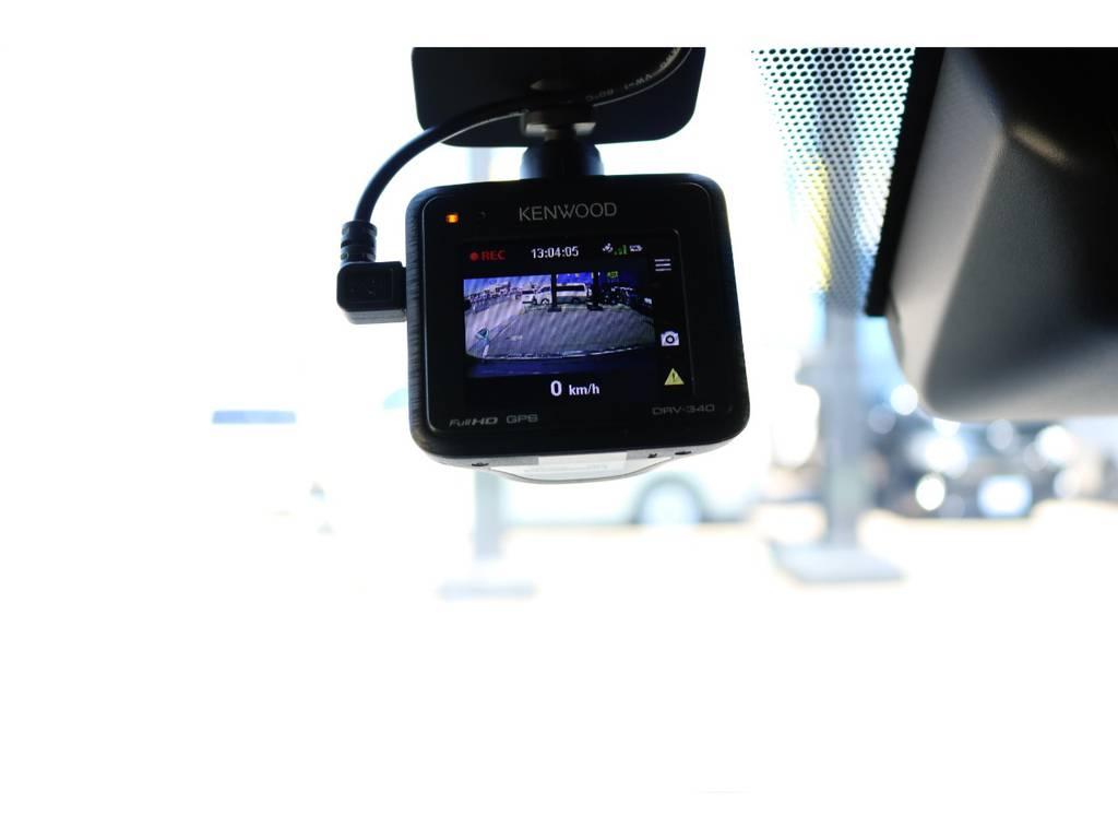 ライブレコーダーも完備!運転中もこれで安心です♪   トヨタ ハイエースバン 2.0 スーパーGL 50TH アニバーサリー リミテッド ロングボディ 50TH