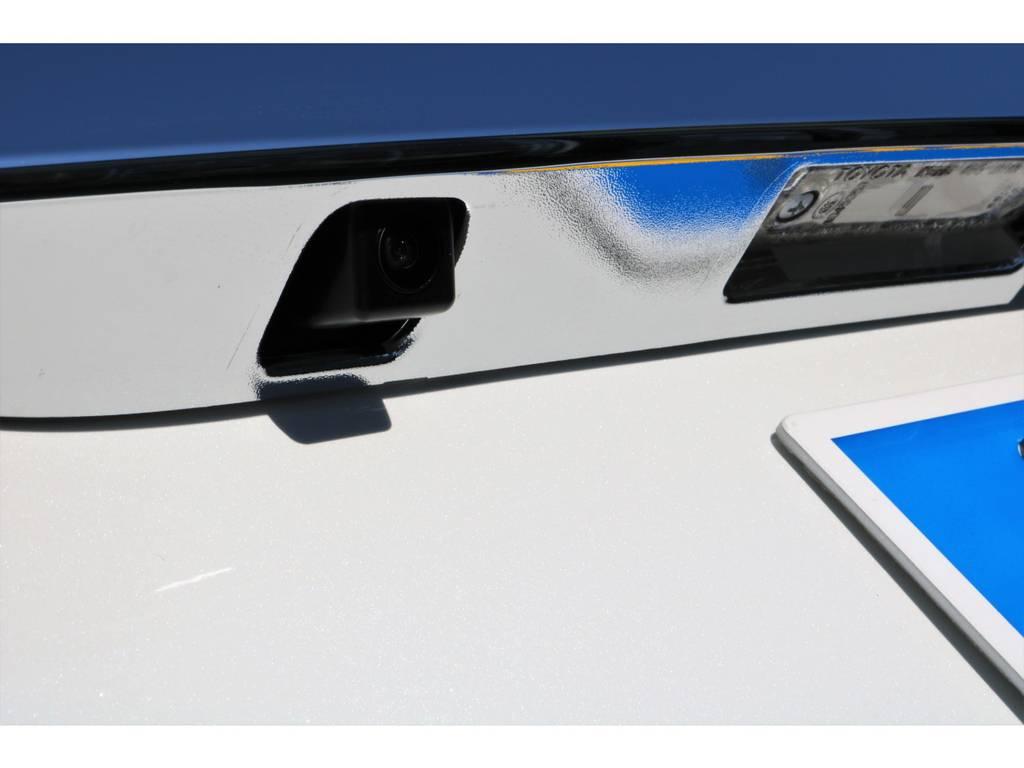 もちろんバックカメラ付きですよ♪   トヨタ ハイエースバン 2.0 スーパーGL 50TH アニバーサリー リミテッド ロングボディ 50TH
