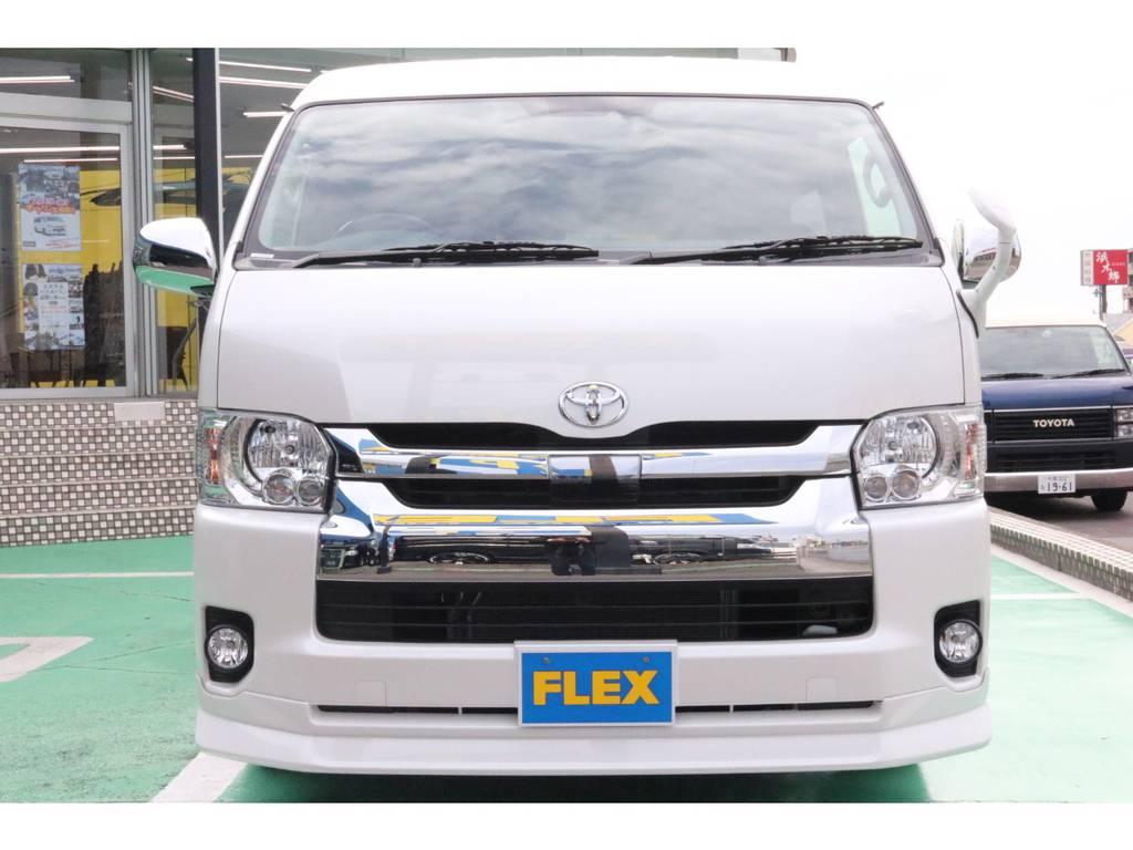 トヨタセーフティーセンス・LEDヘッドライト装備 | トヨタ ハイエース 2.7 GL ロング ミドルルーフ 4WD TSS付