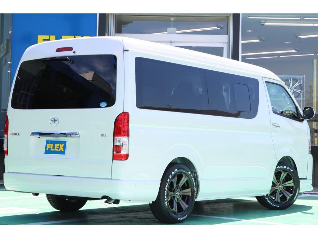 リアフォグランプ装備♪ | トヨタ ハイエース 2.7 GL ロング ミドルルーフ 4WD TSS付