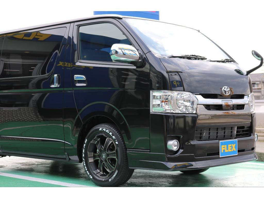 新車即納車! 新車 50TH ディーゼル4WD 人気のライトカスタムパッケージです♪ | トヨタ ハイエースバン 2.8 スーパーGL 50TH アニバーサリー リミテッド ロングボディ ディーゼルターボ 4WD 50TH