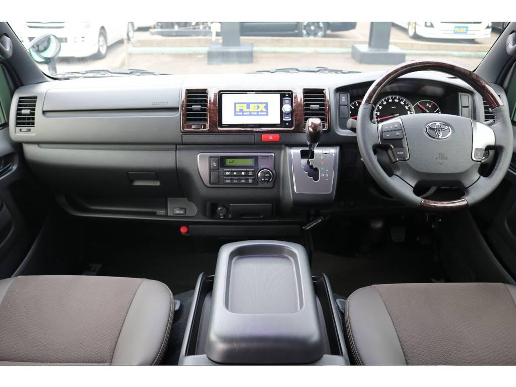 50THアニバーサリー専用コックピット♪ | トヨタ ハイエースバン 2.8 スーパーGL 50TH アニバーサリー リミテッド ロングボディ ディーゼルターボ 4WD 50TH