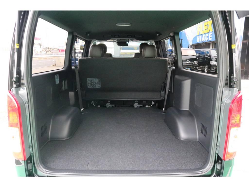 ハイエースと言えば広いラゲッジスペースです! | トヨタ ハイエースバン 2.8 スーパーGL 50TH アニバーサリー リミテッド ロングボディ ディーゼルターボ 4WD 50TH