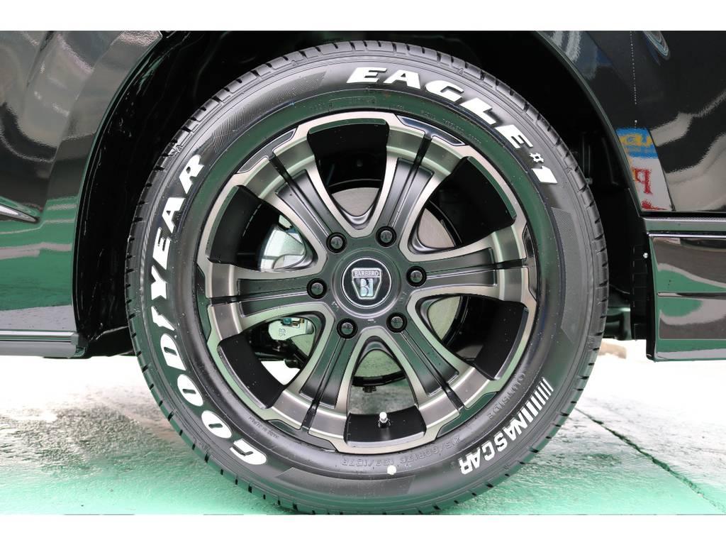 ホイールはFLEXオリジナルカラーバルベロ ワイルドディープス17インチをセレクト♪ | トヨタ ハイエースバン 2.8 スーパーGL 50TH アニバーサリー リミテッド ロングボディ ディーゼルターボ 4WD 50TH